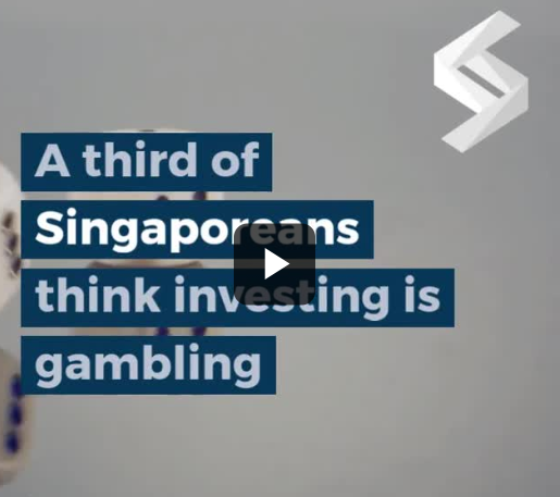 ​A third of Singaporeans think investing is gambling